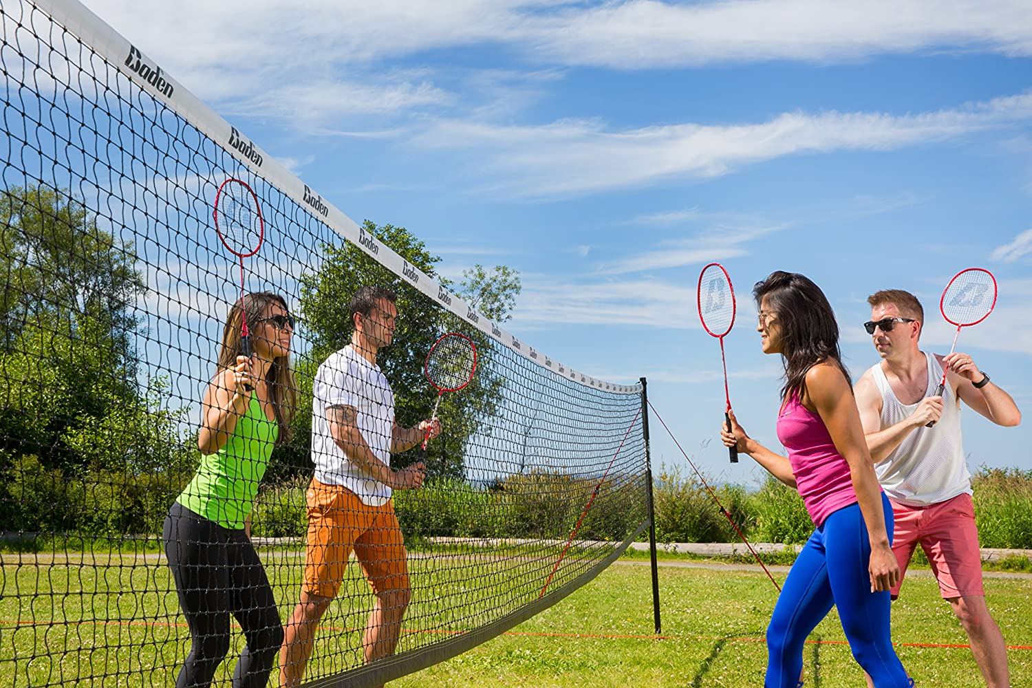 Baden Champions Volleyball Badminton Combo Set : Sports & Outdoors