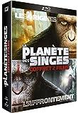 La Planète des Singes : Les origines + La Planète des Singes : L'Affrontement [Blu-ray]