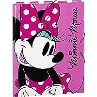 Minnie Mouse - Carpeta folio, con solapas y gomas (Safta 511513068)