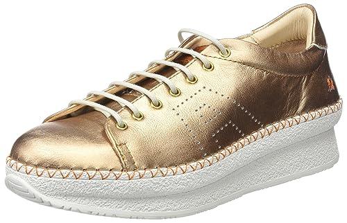 Art 1350S Metali Pedrera, Zapatillas para Mujer, Plateado (Plata), 41 EU