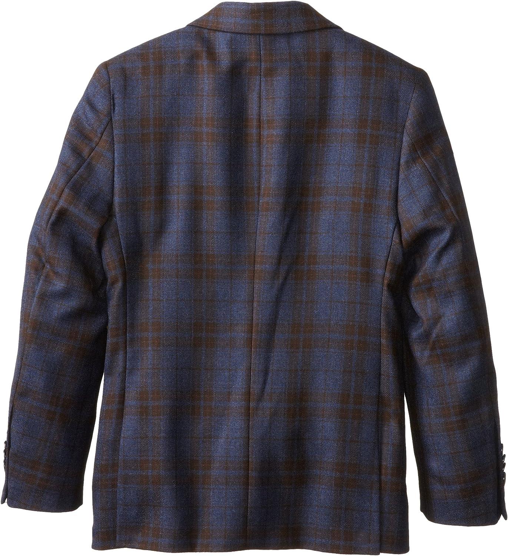 Isaac Mizrahi Black Label Little Boys Plaid Wool Blazer