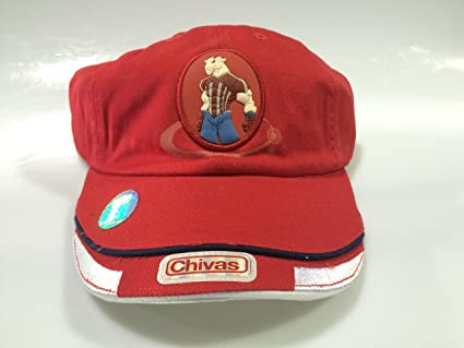 Club Chivas de Guadalajara Red authentic cap gorra seleccion youth (Youth Red)