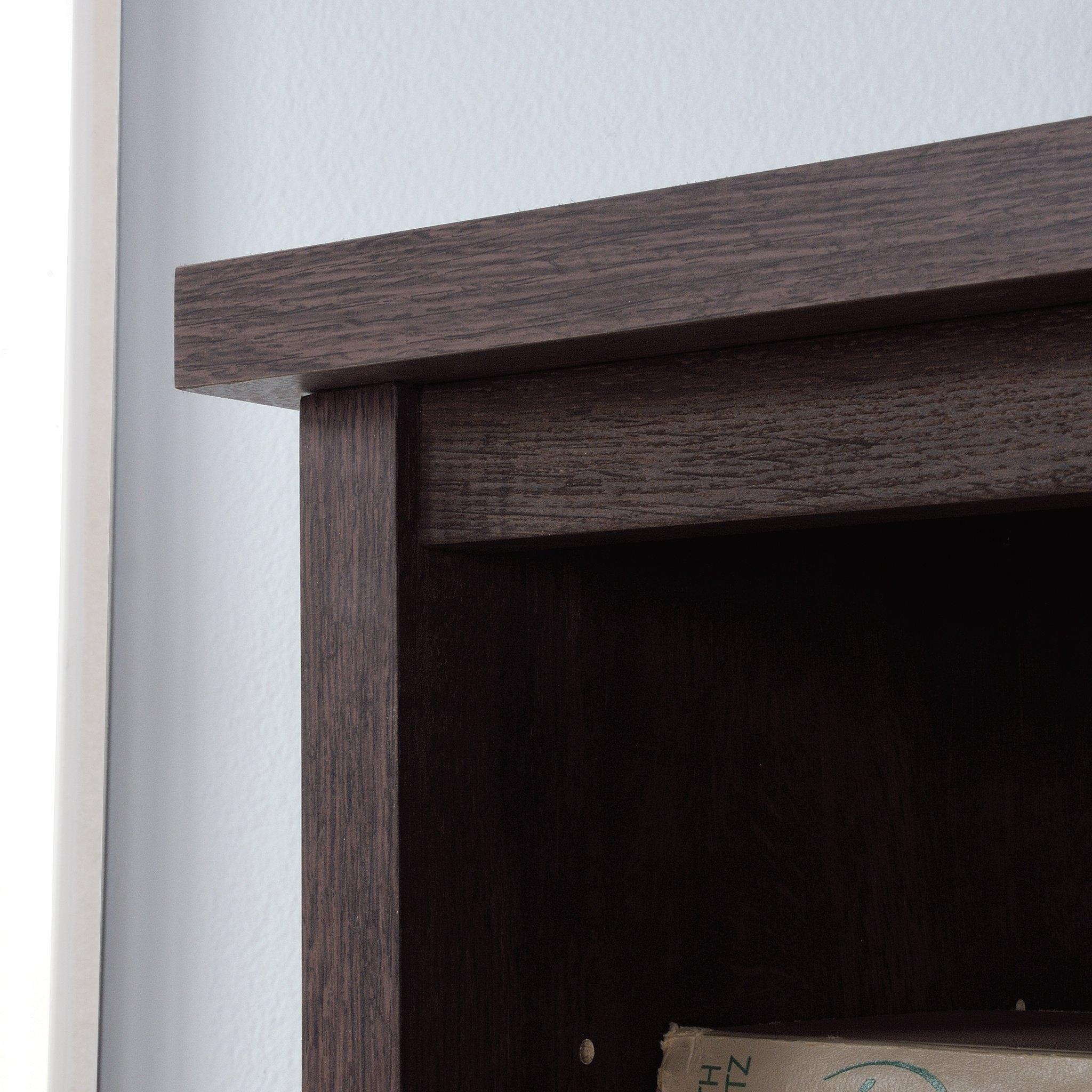 Sauder 422983 Costa Large Hutch, L: 64.57'' x W: 13.19'' x H: 40.04'', Coffee Oak Finish by Sauder (Image #4)