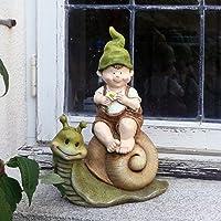 Adorno de jardín, gnomo, hada del jardín, Troll, Richard