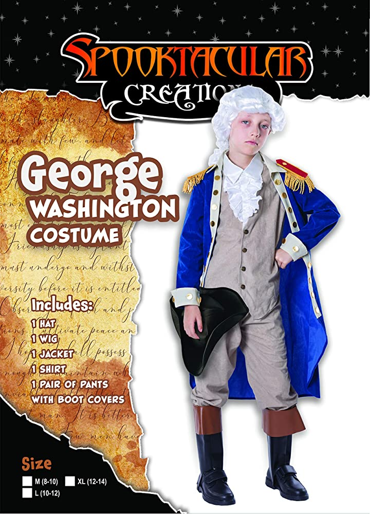 Kid Boys Deluxe American Revolution Colonial Thomas Jefferson Suit Costume