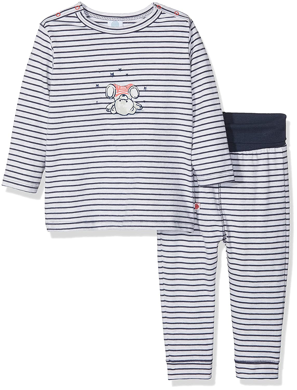 Sanetta Baby - Jungen Zweiteiliger Schlafanzug Pyjama Long