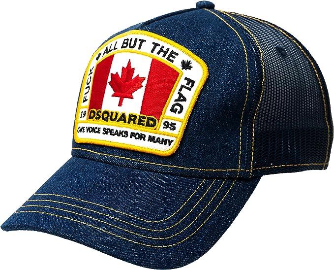 DSQUARED2 D2 Canadian Flag Patch - Gorra de béisbol: Amazon.es ...