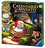 Ravensburger 18938 - Calendario dell'Avvento, Salva Babbo Natale