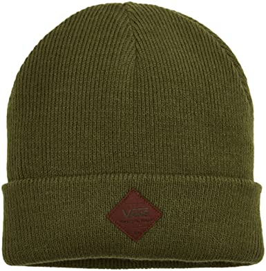 cd1289b136 Vans Apparel Men s Grove Beanie Green (Purple Grape Leaf)
