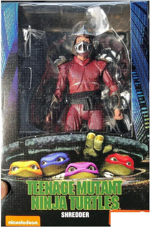 NECA TMNT Teenage Mutant Ninja Turtles 1990 Movie Shredder 7 Scale Action Figure