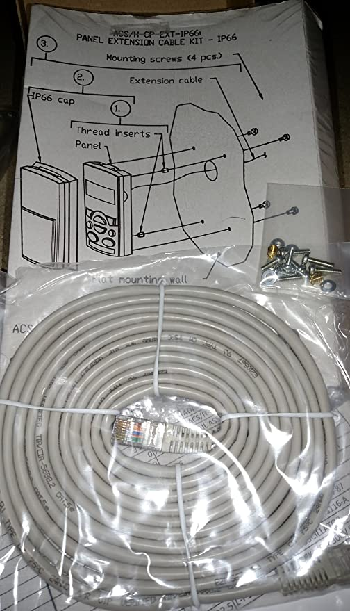 NEW ABB ACS//H-CP-EXT-IP66 68829593 CABLE KIT