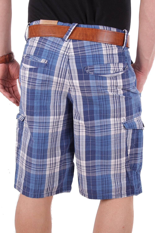Timberland Herren Bermuda Shorts CONWAY LAKE PLAID (W32, Blau): Amazon.de:  Bekleidung
