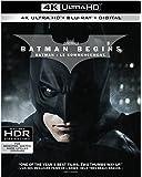 Batman Begins (UHD/ BD) (4K Ultra HD/ BIL) [Blu-ray]
