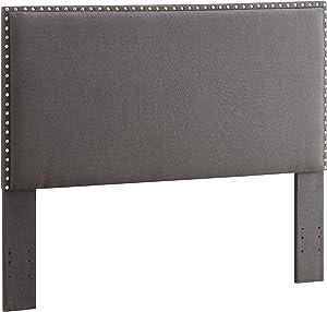 Linon Charcoal Full/Queen Contempo Headboard