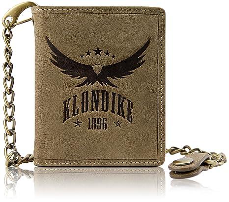 vendita più calda dal costo ragionevole comprare bene Klondike 1896 Portafoglio con catena
