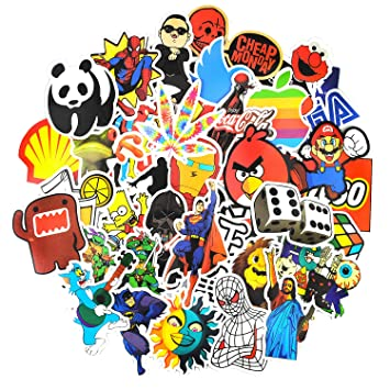 Sticker pack 150 pcs graffiti sticker decals vinyls for laptopkids