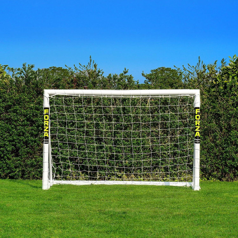 Net World Sports 1,8m x 1,2m Fu/ßballtor Dieses Tor kann das ganze Jahr /über bei jedem Wetter drau/ßen gelassen Werden