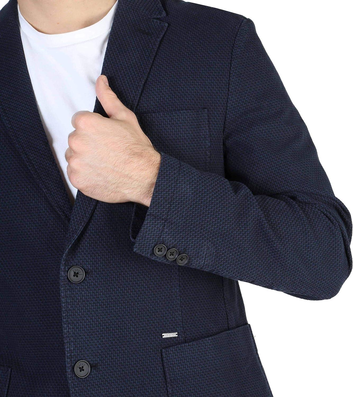 Guess Blazer Homme Bleu M84N02