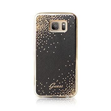 5d2e9202fa Guess GUCT010 Coque pour Samsung Galaxy S7 Edge Noir: Amazon.fr ...