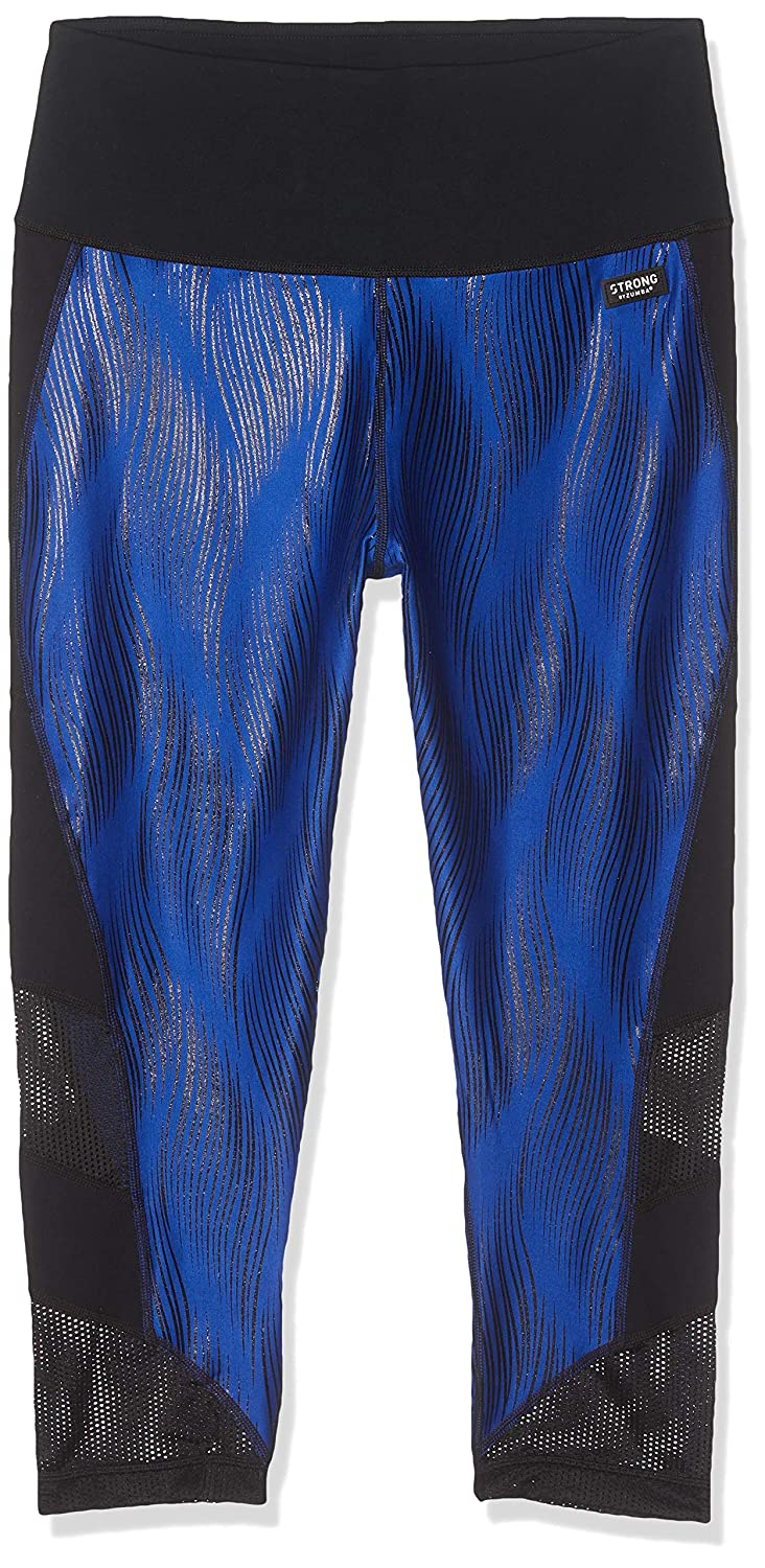 3fa6f49a8d5e50 Amazon.com: STRONG by Zumba Women's High Waisted Shaping Athletic  Performance Cropped Workout Leggings with Compression: Clothing