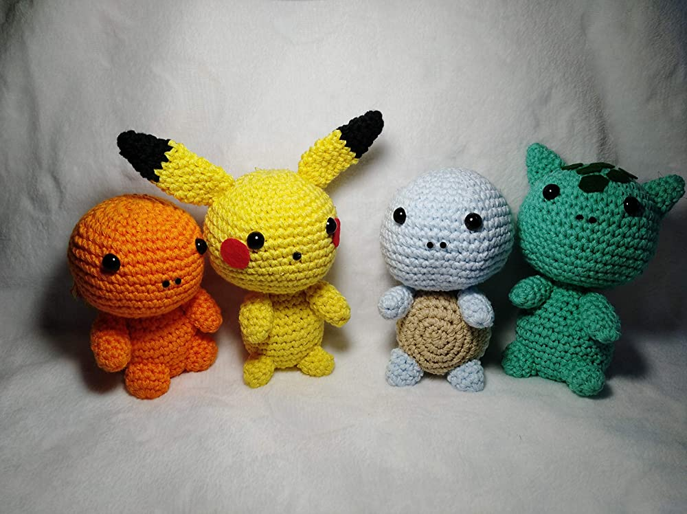 Amigurumi Pokemon: Amazon.es: Handmade