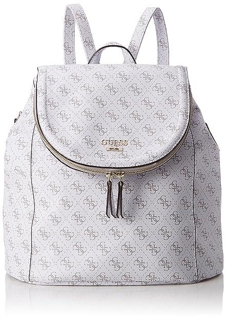 Guess - Hwlg6432320, Bolsos mochila Mujer, Blanco (Bianco), 18x34x33 cm (