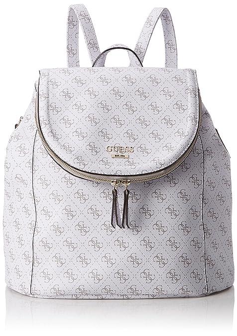 Guess - Hwlg6432320, Bolsos mochila Mujer, Blanco (Bianco), 18x34x33 cm (W x H L): Amazon.es: Zapatos y complementos
