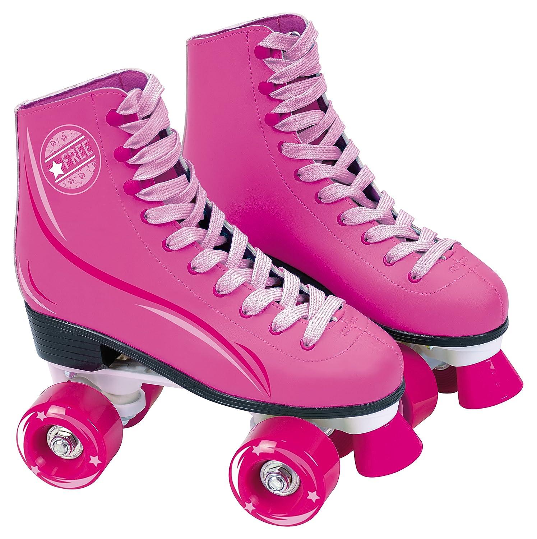 Saica - Patines de bota con cordones, 31, color rosa (6963)