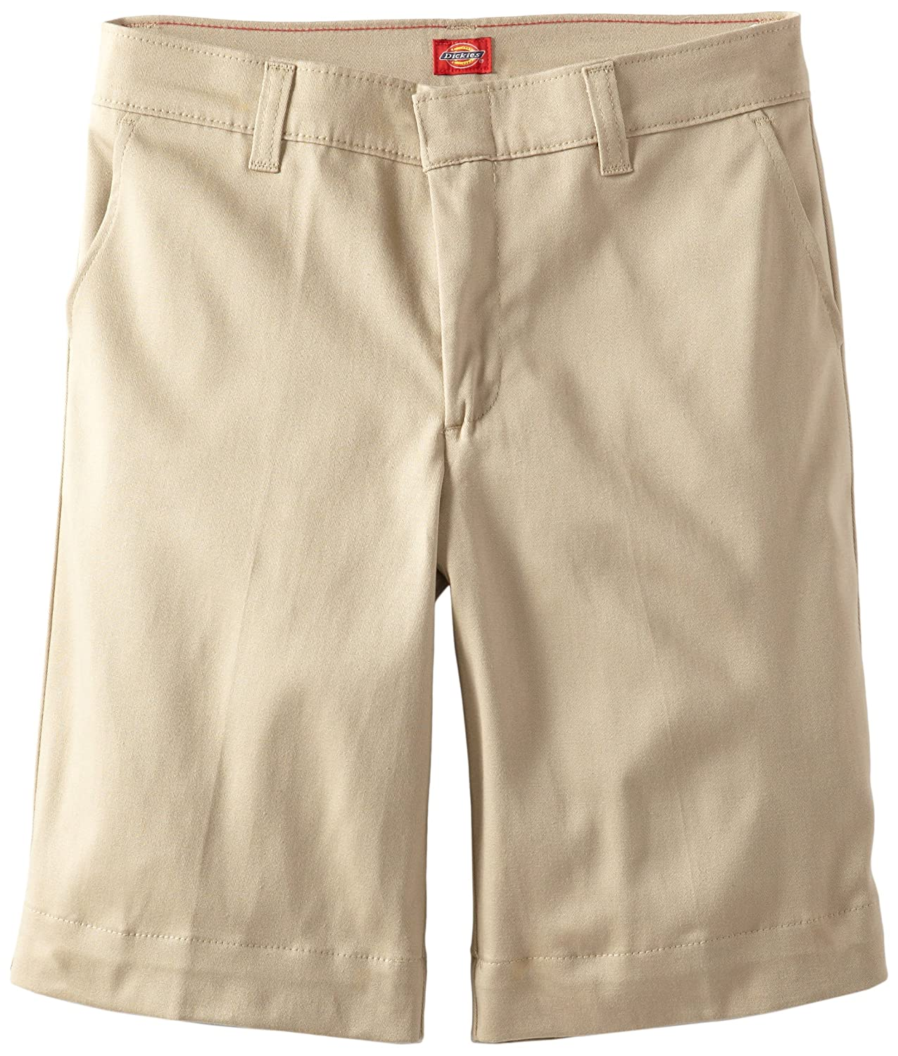 c38ab4c171b5 Dickies Big Girls 'Plus Stretch Bermuda Short, Desert Sand, 12.5 ...
