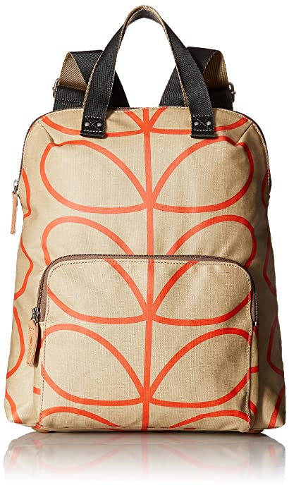 Womens Backpack Tote Backpack Beige (Stone) Orla Kiely AbRBYF