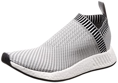 best service cbdf7 4765b adidas NMD City Sock 2 Primeknit BA7187 Grey/White (8.5)