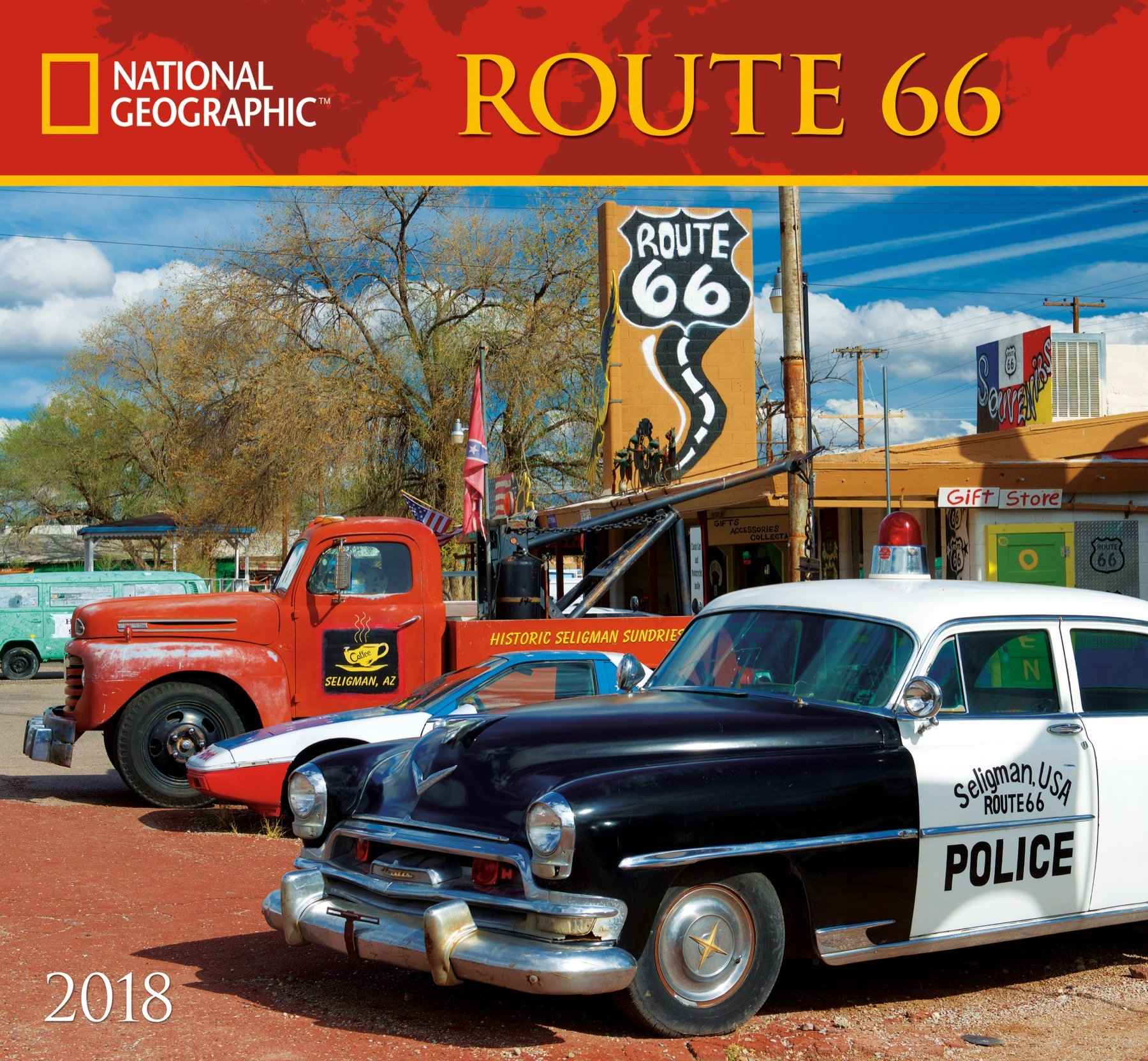 Download National Geographic Route 66 2018 Wall Calendar ebook