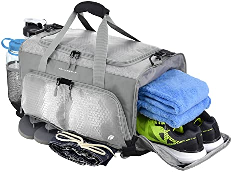 Amazon.com  FocusGear Ultimate Gym Bag  The Crowdsource Designed 20 ... 1107ca52b0527