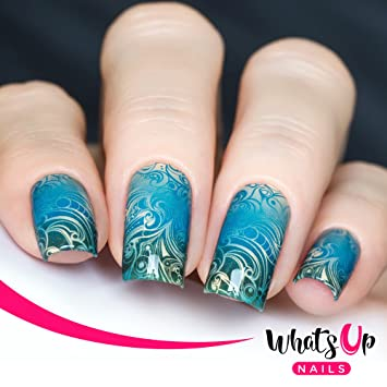 Amazon Whats Up Nails P083 Swirl Sensation Water Decals