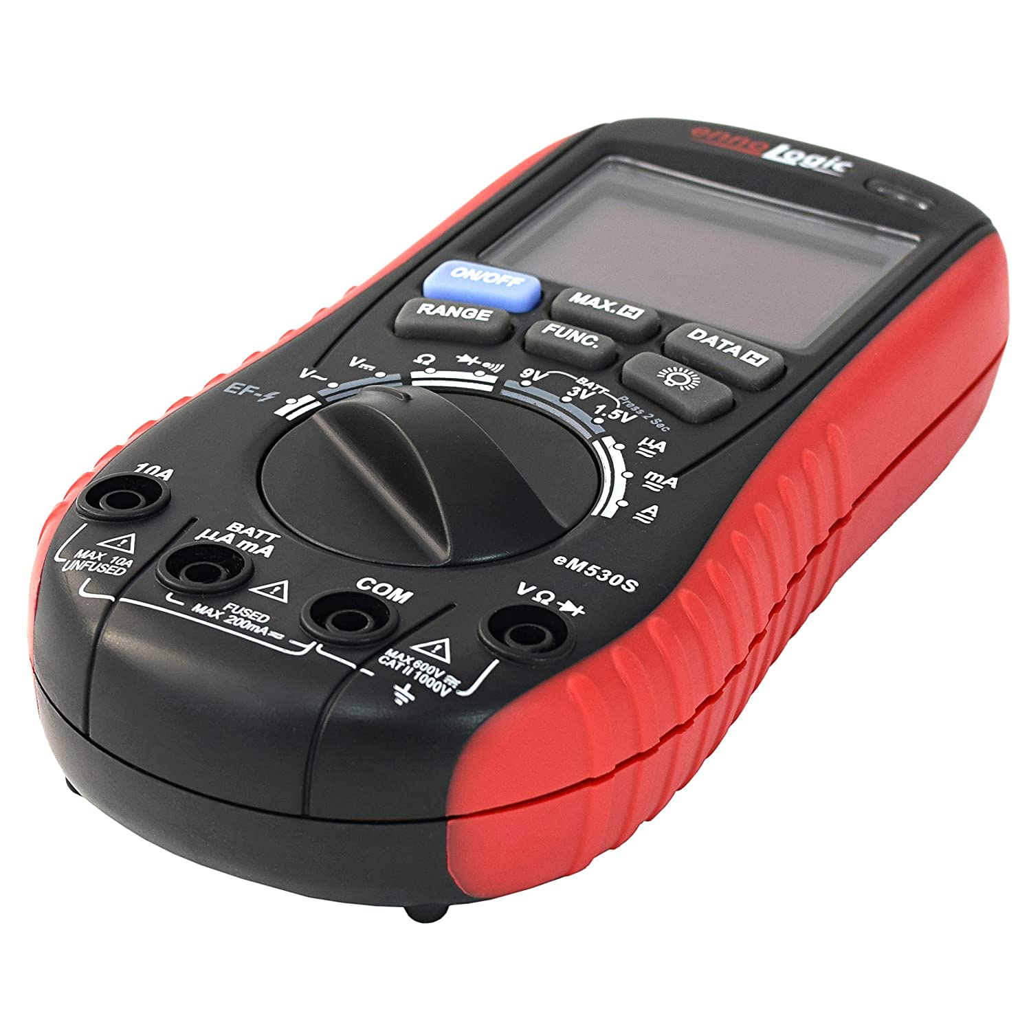 Amazon com innova 3320 auto ranging digital multimeter automotive - Digital Multimeter With Battery Tester Accurate Fast Auto Ranging Dmm For Ac Dc Voltage And Current Resistance Continuity Battery Load Test Diode