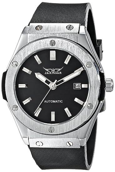 WINNER PMW085 - Reloj de pulsera Hombre, Caucho, color Negro: Amazon.es: Relojes