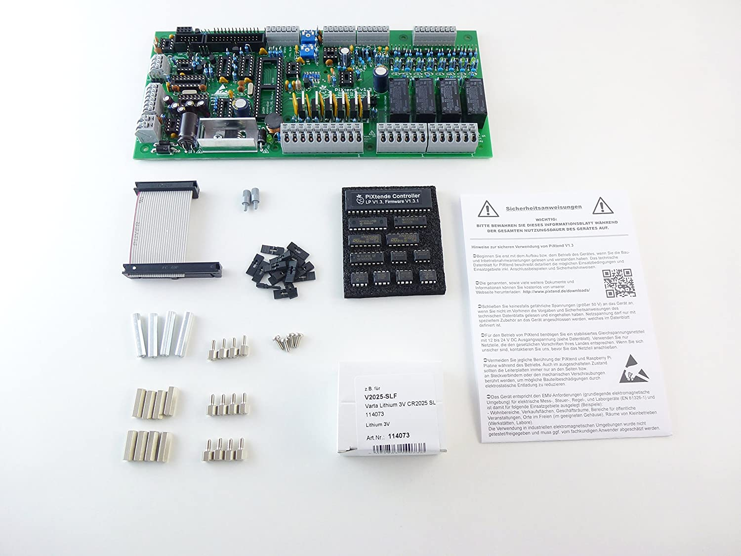 Pixtend V1 3 Artc SPS/PLC/Control Expansion for Raspberry Pi: Amazon