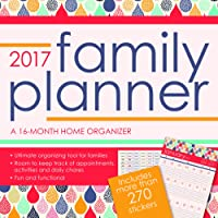 Family Planner 2017 Calendar: Includes Stickers