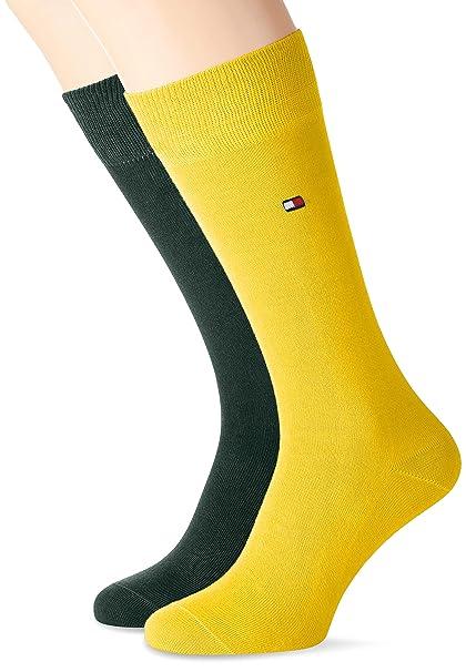 Tommy Hilfiger Calcetines para Hombre, Opaco (Pack de 2): Amazon.es: Ropa y accesorios
