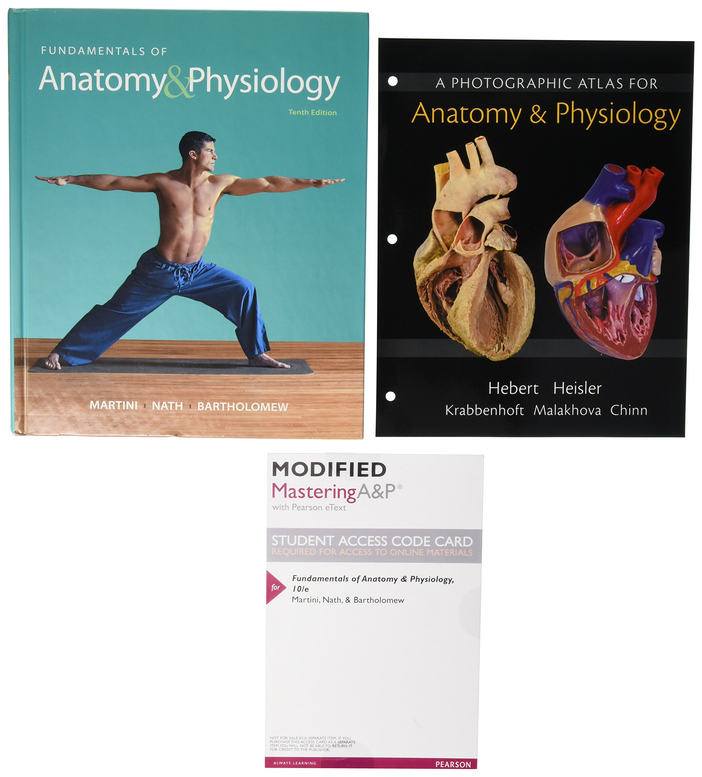 Fundamentals of Anatomy & Physiology, Photographic Atlas for Anatomy ...