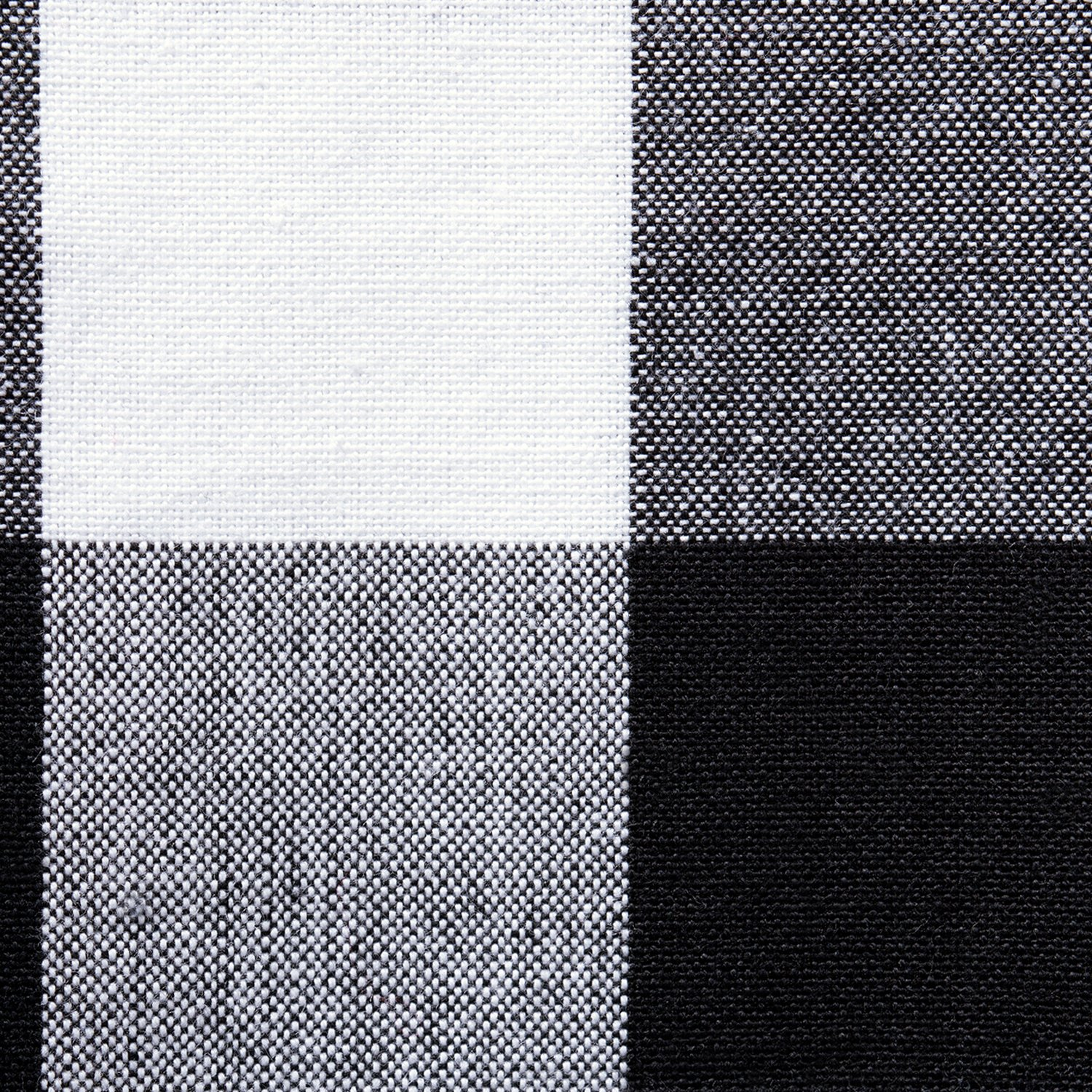 DII Cotton Buffalo Check Table Runner for Family Dinners or Gatherings, Indoor or Outdoor Parties, & Everyday Use (14x108'',  Seats 8-10 People), Black & White by DII (Image #2)