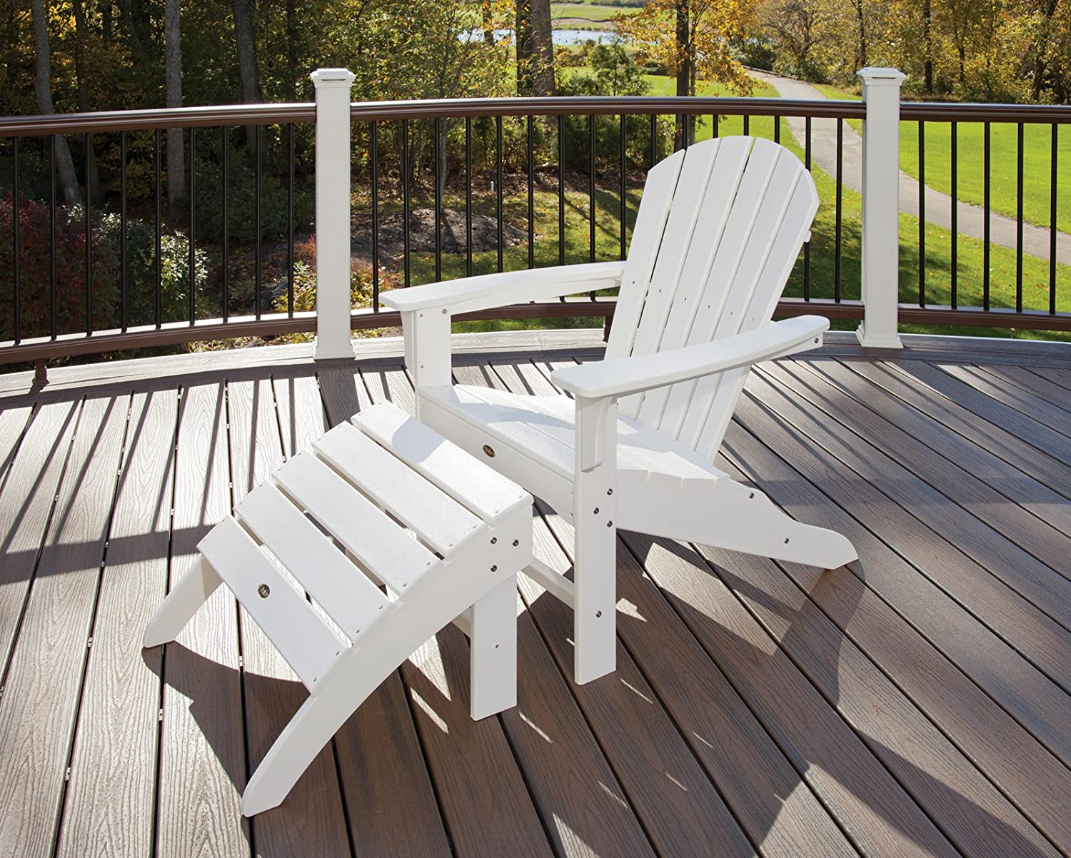 Trex Outdoor Furniture Cape Cod Adirondack Chair Tree House