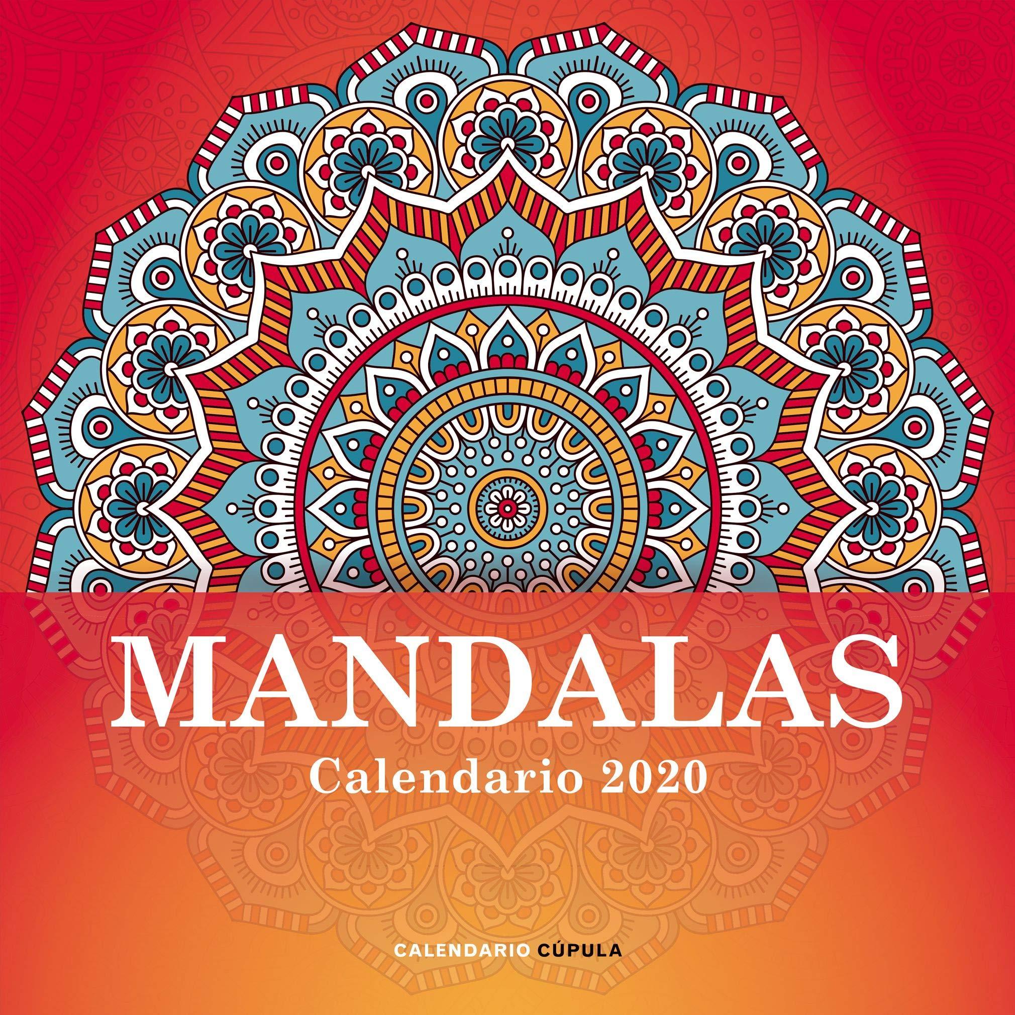 Calendario Mandalas 2020 (Calendarios y agendas): Amazon.es ...