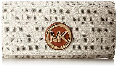 c9336d958bc5 Amazon.com  Michael Kors Fulton Carryall Women s Leather Wallet ...