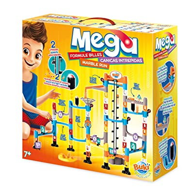 Buki Mega Marble Run Labyrinth Maze Set For Kids Age 7 And Up. Include Over 100 Interchangeable Parts: Toys & Games