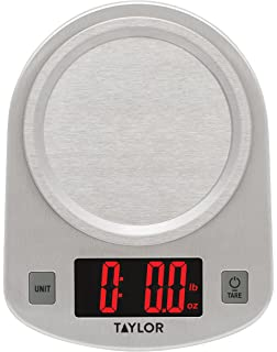 Taylor Digital Stainless Steel LED Kitchen Scale