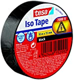 TESA 56192 – 00010 – 02 Isoleringsband, Svart, 10m x 15mm