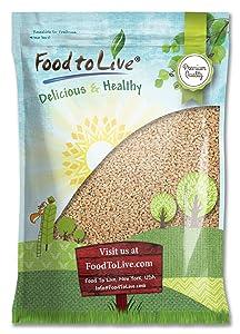 Pearl Barley, 10 Pounds - Kosher, Vegan, Raw, Bulk