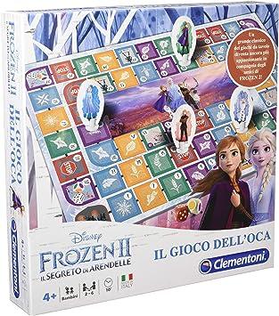 Amazon.es: Clementoni Juego de la oca, Frozen 2 Multicolor