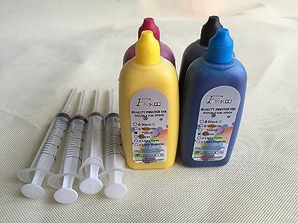 f-ink marca 4 x 100ml calidad tinta de sublimación para Epson ...